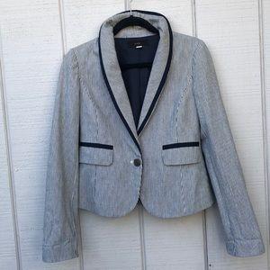 Lux Striped Blazer Jacket